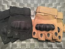 Great tatical gloves! Hovever build material on knuckles varies by color.