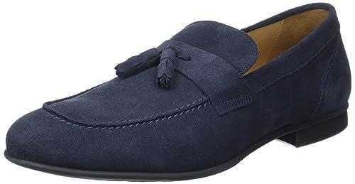 Geox U Wilburg C, Mocasines para Hombre, Azul (Navyc4002), 44 EU: Amazon.es: Zapatos y complementos