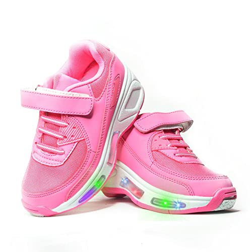 Usay like Envio 24H Zapatillas con ruedas Color Rosa Para Niña Chica (EU30: Amazon.es: Zapatos y complementos