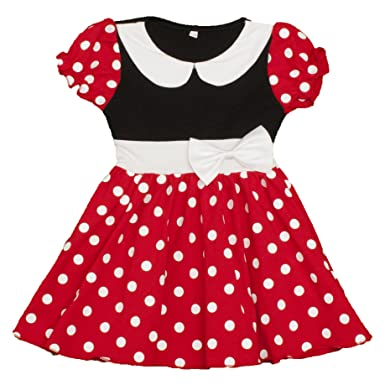 89b960ee9 Amazon.com: Dress Up Dreams Boutique Girls Red & White Polka Dot Cap ...