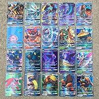 Yousir Pokemon Kaartenset, 100 stuks, cartoon speelkaart, cartoon speelkaart kinderen TCG Style kaart