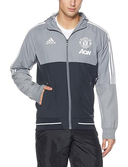 adidas Manchester United Präsentationsjacke Schwarz