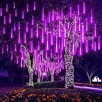 EEIEER 192 LED lluvia gotas luces 30cm 8