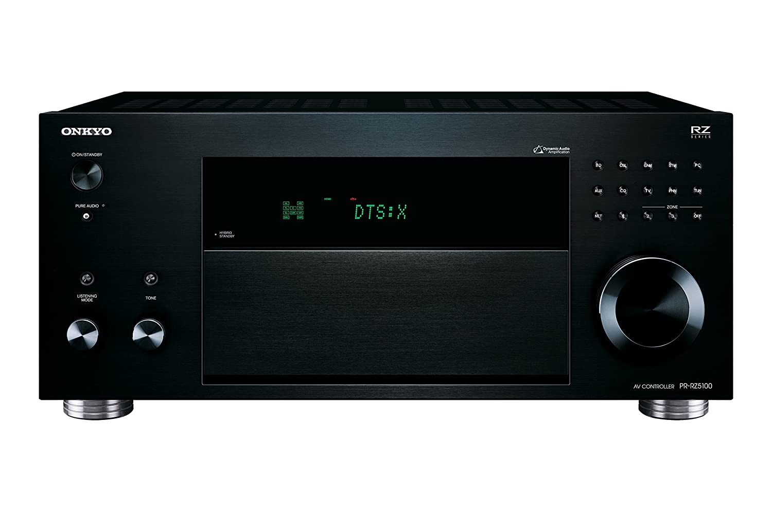 11.2 Canales, WiFi, Bluetooth Color Negro Onkyo PR-RZ5100-B Controlador AV de Red
