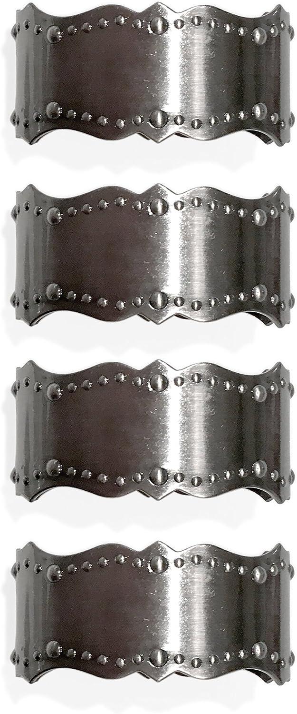 Lenox French Scroll Set of 4 Napkin Rings