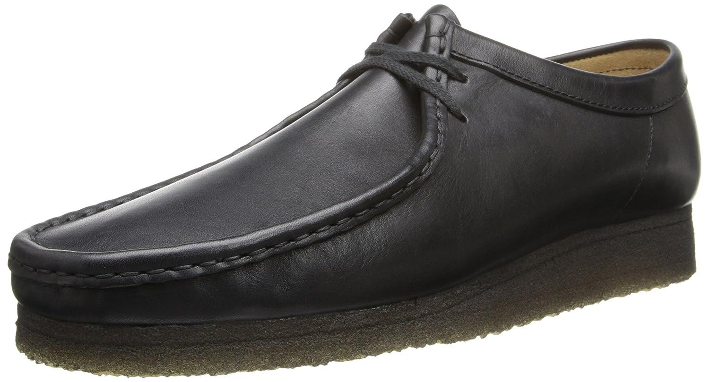 CLARKS Men's Wallabee Shoe B00IJLTKDK 14 D(M) US|Black Leather