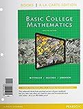 Basic College Math, Books a la Carte Edition (12th Edition)