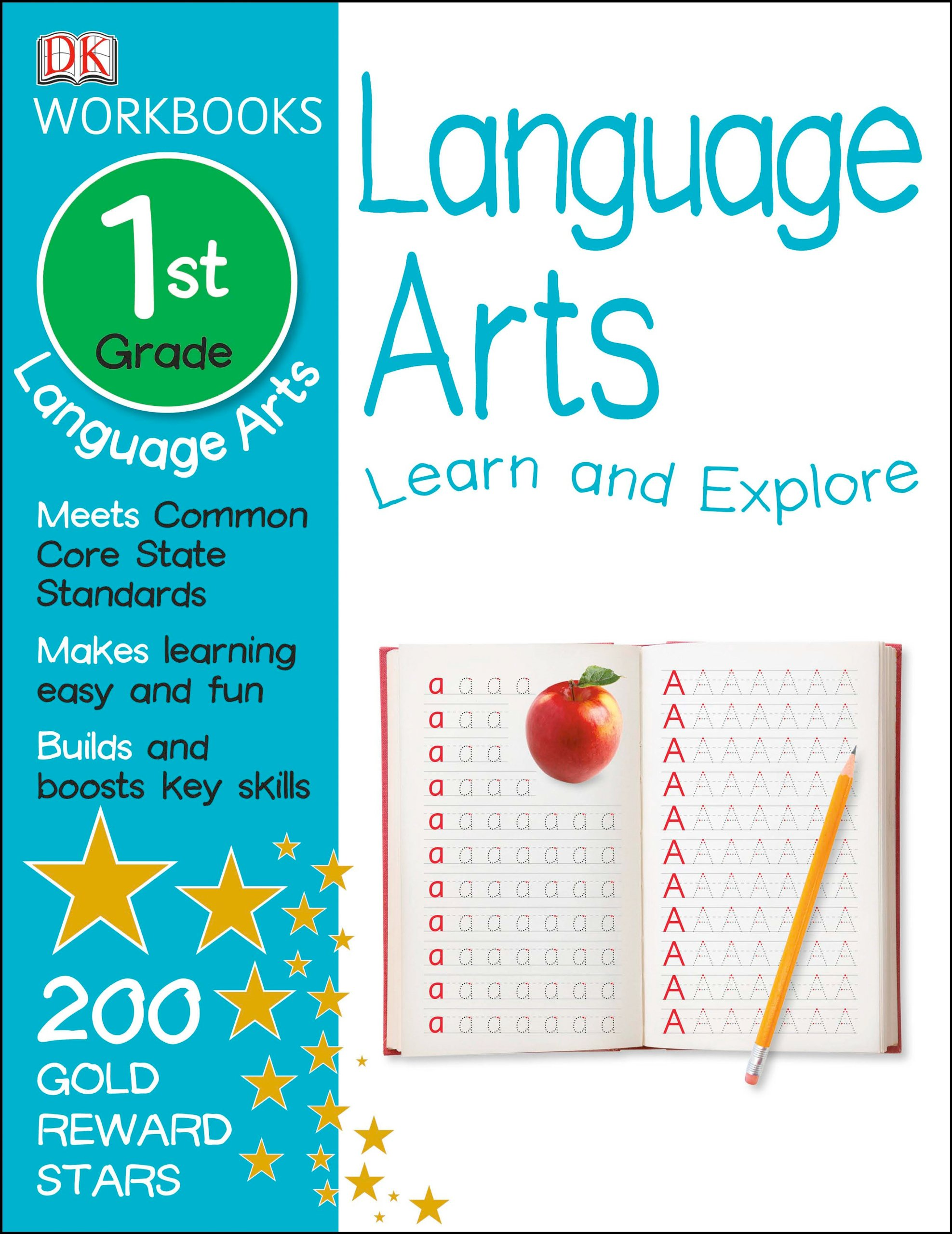 Worksheet First Grade Workbooks dk workbooks language arts first grade publishing 9781465417381 amazon com books