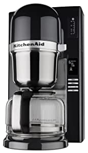 KitchenAid KCM0802OB Pour Over Coffee Brewer, Onyx Black