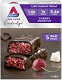 Atkins Endulge Cherry Coconut Low Carb, Low Sugar Treat Bar, 34g, Pack of 5