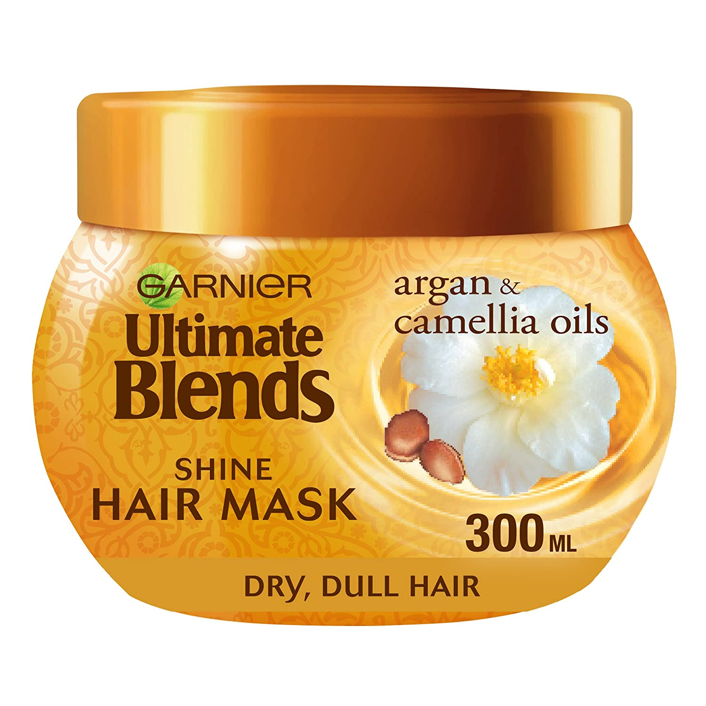Garnier Ultimate Blends Argan Oil Shiny Hair Mask Treatment 300 ml L' Oreal 3600541852280 The Weightless Nourisher
