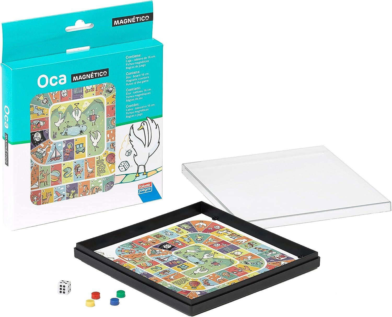 Falomir Oca Magnético, Juego de Mesa, Clásicos, 16 x 16 cm (27903): Amazon.es: Juguetes y juegos