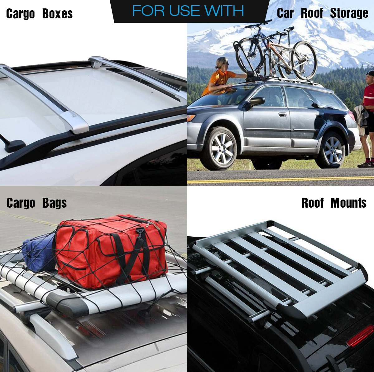 Amazon.com: CAR ROOF PROTECTIVE MAT, Siivton Roof Rack Pad Non Slip For Car Roof  Storage Bags: Automotive