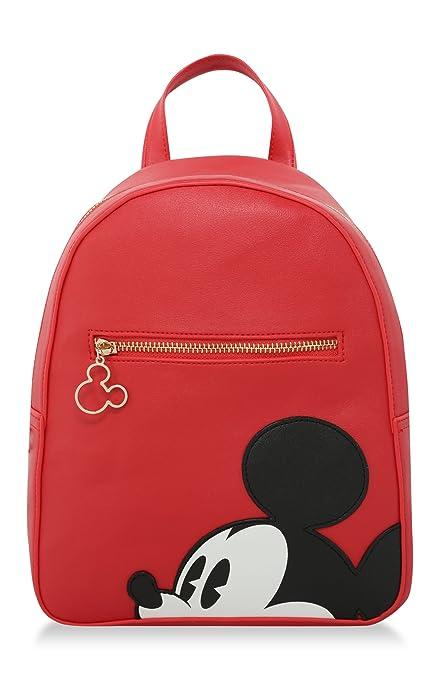 Primark Disney ~ Mickey Mouse ~ Cara ~ MOCHILA ROJA: Amazon.es: Zapatos y complementos