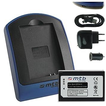 Baterìa + Cargador (USB/Coche/Corriente) BP1410 para Samsung Smart Camera NX30, WB2200F