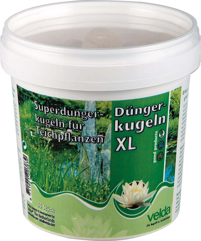 Velda, super boules d'engrais pour plantes de bassin, Super Growth Balls XL, 55 pièces, 122256