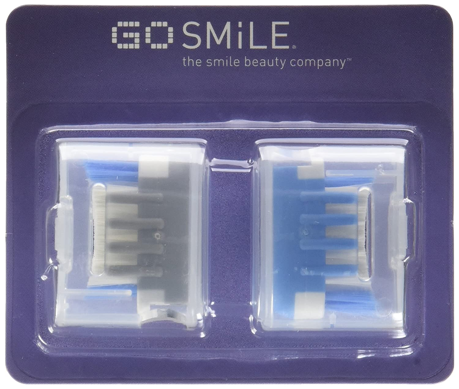 Extra Brush Heads for the Blue Light Whitening Toothbrush (4-Pack) by Go Smile B00OL2EWTI