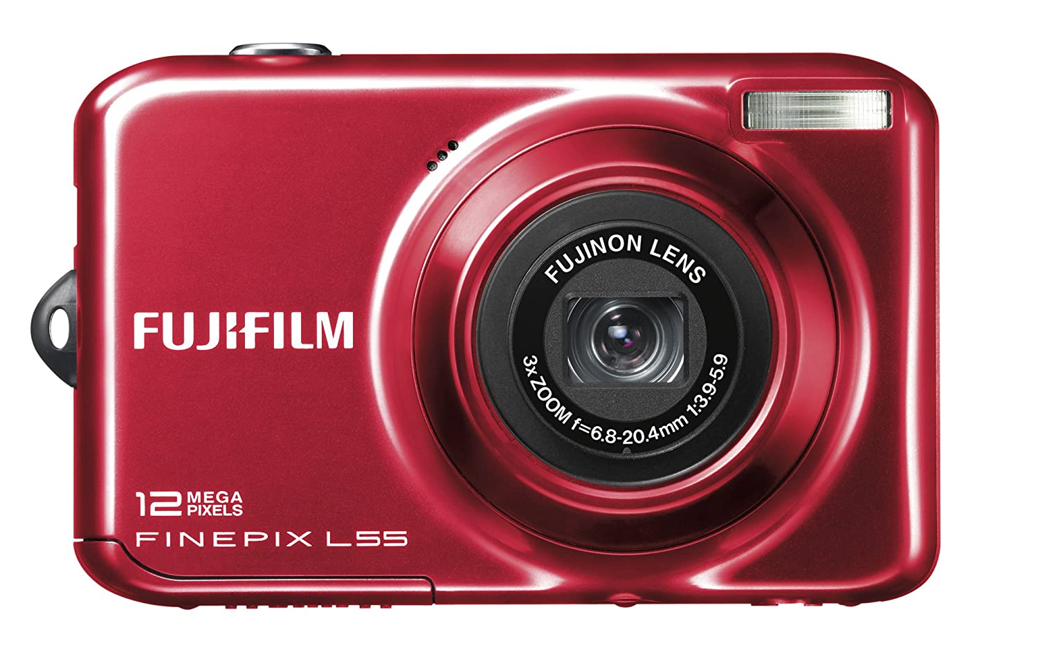 Fujifilm FinePix L55 Digital Camera - Red 2.4 inch LCD: Amazon.co.uk: Camera  & Photo