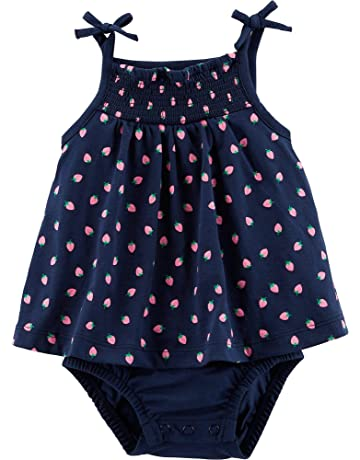 74e8695c6c8b Carter's Baby Girls Strawberry Tank Sunsuit