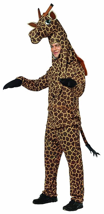 Amazon.com Rasta Imposta Giraffe Costume Brown/Yellow One Size Clothing  sc 1 st  Amazon.com & Rasta Imposta Giraffe Costume