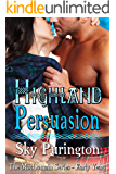 Highland Persuasion (The MacLomain Series: Early Years, Book 2): A Highlander Time Travel Romance