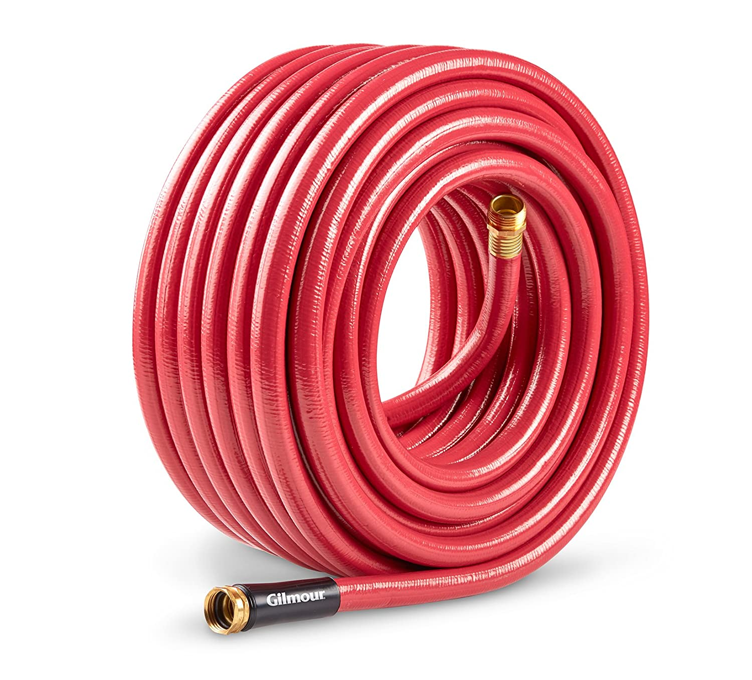 Gilmour 829901-1001 Farm & Ranch Hose 5/8 Inch x 90 Feet, Red