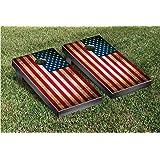 US Vintage Flag Cornhole Game Set