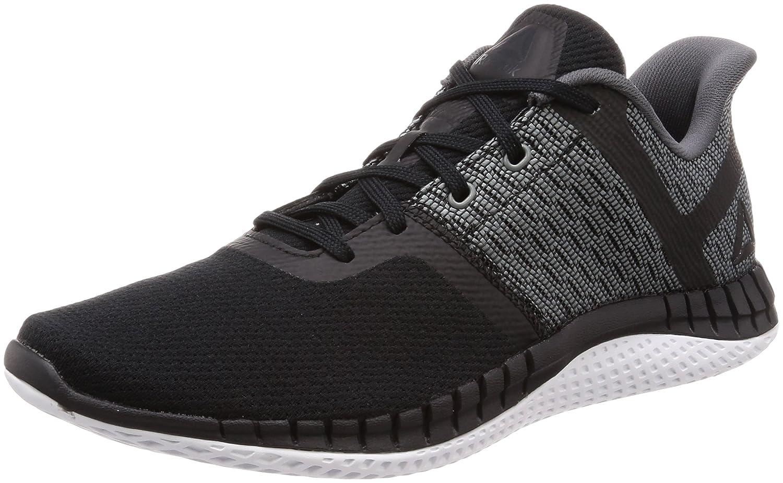 Reebok Print Run Next, Zapatillas de Trail Running para Hombre 45 EU|Negro (Black/Flint Grey/Wht 000)