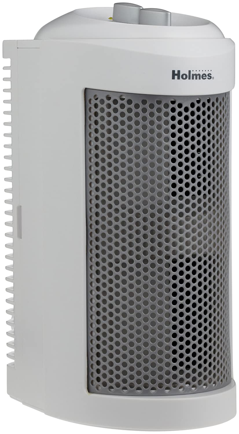 Air Purifier With Washable HEPA Filter_Holmes True HEPA Mini Tower Allergen Remover, HAP706-U