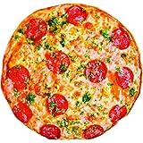 Cuscino a forma di pizza gigante, morbido, il cuscino sembra realmente una pizza, per copriletto, ottimo come decorazione per la casa. Tenero, adorabile cuscino poggiatesta un ottimo regalo adatto ad ogni occasione. (30CM)