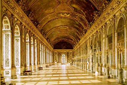 Amazon Hall Of Mirrors At The Palace Of Versailles Paris