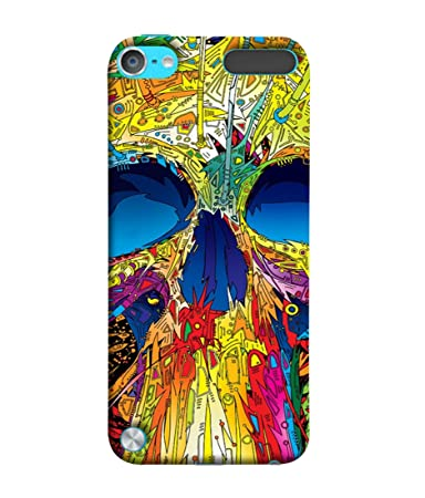 Fuson Designer Back Case Cover for Apple iPod Touch 5 :: Apple iPod 5  5th Generation   Colorful Illustrative Graphics Boy Men Man  Mobile Accessories