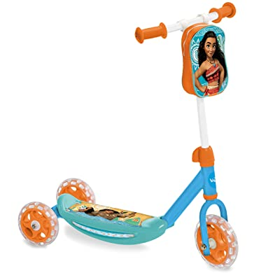 Mondo World 18474 – Baby Scooter 3 Wheels My First Scooter Vaiana: Toys & Games