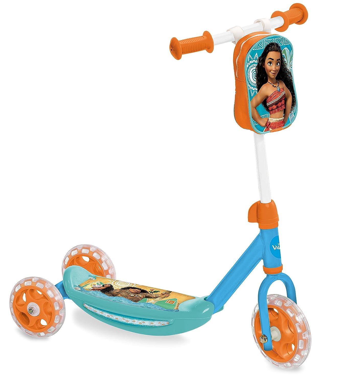 Vaiana-MD-18474 Patinete,, Talla Ajustable (Mondo Toys MD-18474