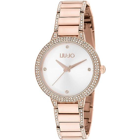 orologio solo tempo donna Liujo Brilliant trendy cod. TLJ1282  Amazon.it   Orologi f1ce925982e