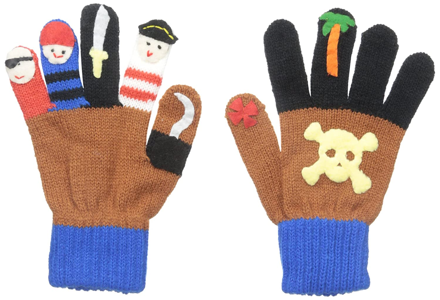 Kidorable Boys' Little Pirate Gloves