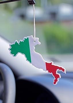 Lufterfrischer Duftbaum Geruch Flagge Tricolore Italien Wald Für Das Auto Auto