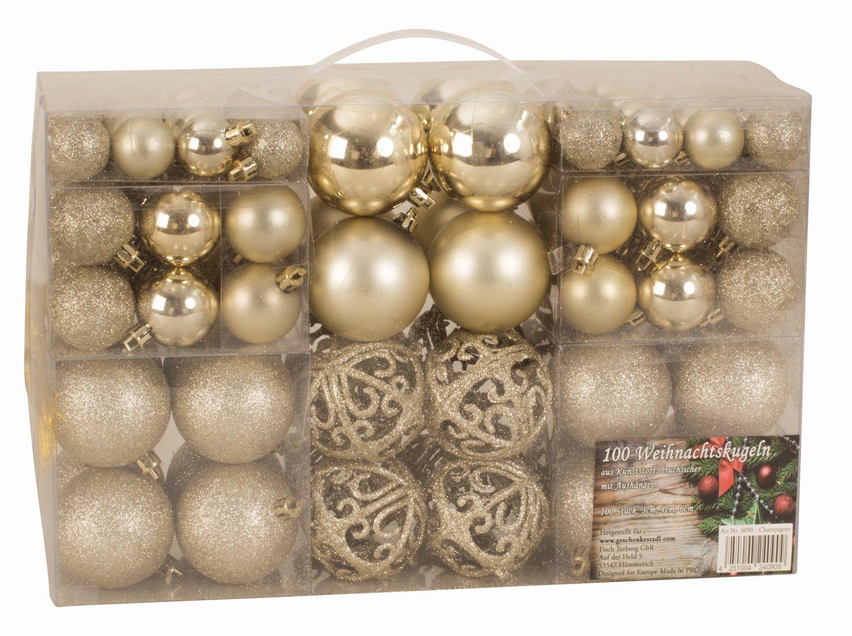 Albero Di Natale Con Decorazioni Blu : Esclusive sfere per albero di natale set con pezzi colore