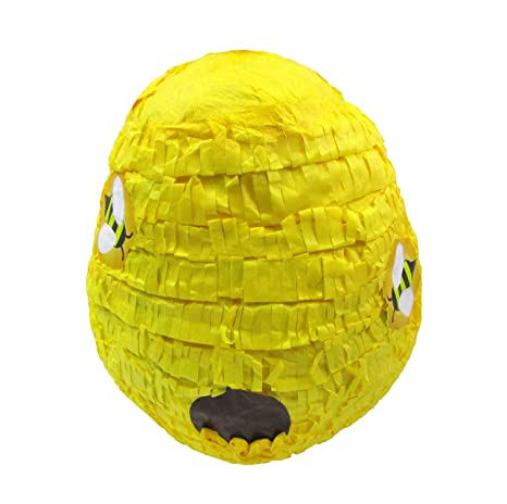 Amazon Com Beehive Pinata Birthday Party Game Decoration And