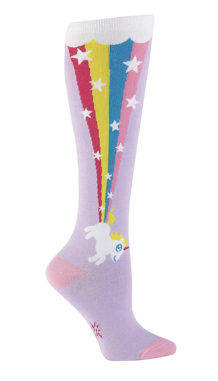 Sock it to Me, calzettoni tubolari altezza ginocchio con scia di unicorno calzettoni tubolari altezza ginocchio con scia di unicorno Purple Taglia unica ST-F0187
