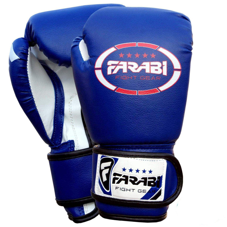Kids boxeo guantes mitones junior guantes Sparring mma oz por Farabi