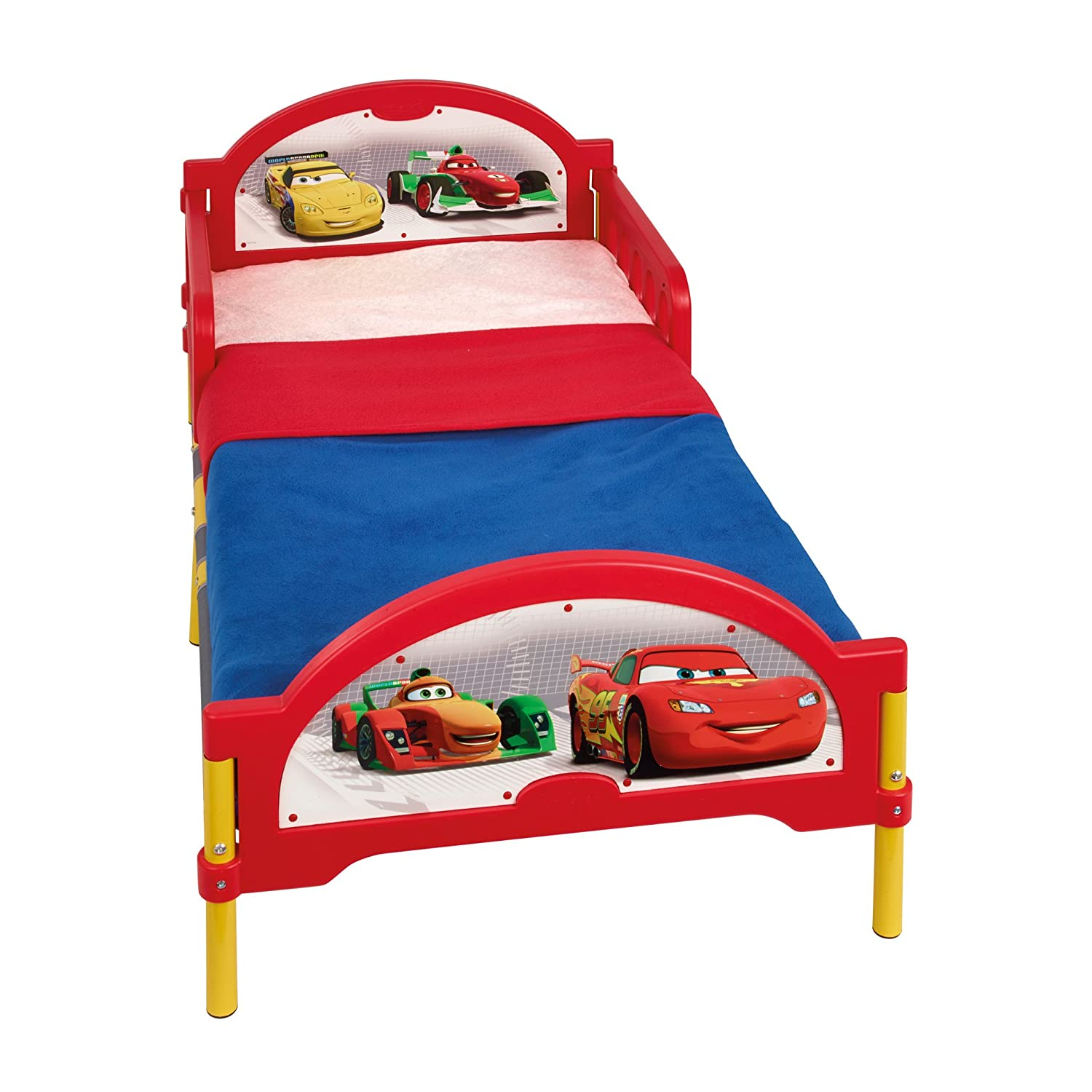 Disney Cars Toddler Bed by HelloHome Amazon Kitchen & Home