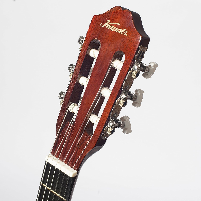 De ceiba LC14 3/4 Guitarra acústica para zurdos unidades para niños principiantes 9 A 12 años incluye bolsa, correa, púas y cuerdas: Amazon.es: Instrumentos ...