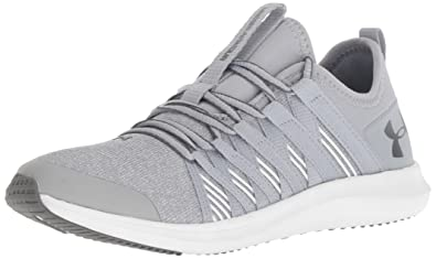 detailed look bf17a bfd90 Under Armour Girls' Pre School Infinity TS Sneaker, Overcast Gray (101)/