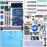 UNIROI 45点 Arduino用キット R3互換ボード付き 初心者スターターキット 日本語マニュアル 電子工作 ブレッドボード ジャンプワイヤ mega2560 r3 UA005