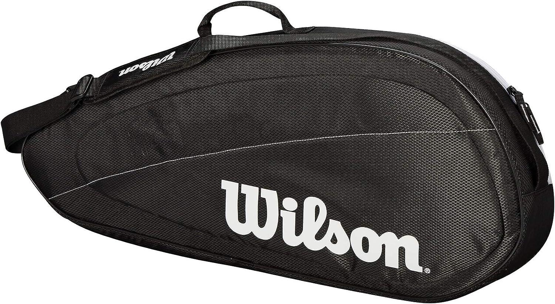 Wilson Bolsa para raquetas de tenis Fed Team, Hasta 6 raquetas ...