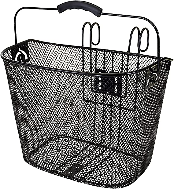 M-Wave Baf Hang - Cesta de Alambre, Color Negro: Amazon.es ...