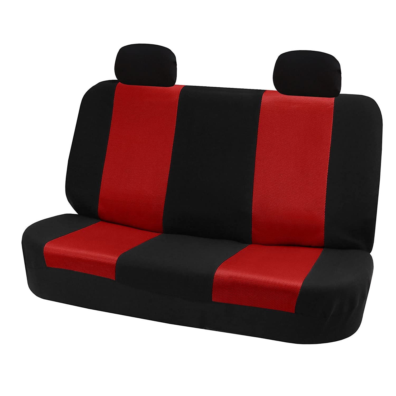 SUV or Van FH Group FH-FB102102 Classic Cloth Car Pair Set Seat Covers Blue//Black- Fit Most Car Truck