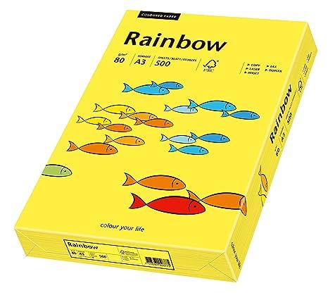 Amazon.com: Papyrus 88042322 Rainbow - Papel multiusos (A3 ...
