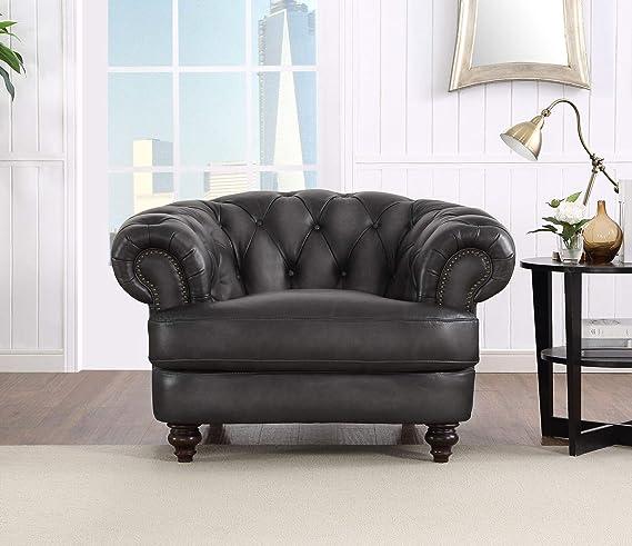 Amazon.com: Hydeline Newport - Juego de sofá (100% piel ...